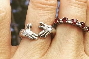 koala hands ring