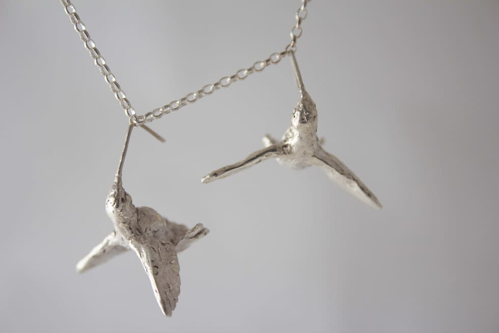 this shows hummingbird earring for sale